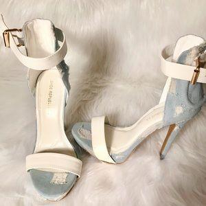 Blue Jean Heels (Shoe Republic LA)🔥🔥🔥